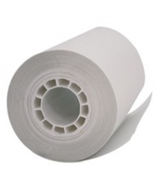 Single Ply Thermal Cash Register/pos Rolls, 2 1/4 X 55 Ft., White, 5 Rolls/pack