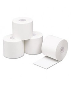 Direct Thermal Printing Thermal Paper Rolls, 2.1 Ml,2 1/4 X 200ft, White, 50/ct