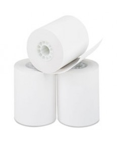 Three Ply Cash Register/pos Rolls, 3 X 70 Ft., White/canary/pink, 50/carton
