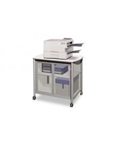 Impromptu Deluxe Machine Stand W/doors, 34-3/4w X 25-1/2d X 30-3/4h, Gray