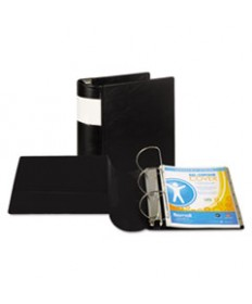 Clean Touch Round Ring View Binder, Antimicrobial, 4, Berry