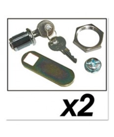 Utility Cart Replacement Parts, Door Kit With Lock