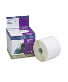 """SLP-SRL SELF-ADHESIVE WIDE SHIPPING LABELS, 2.12"""" X 4"""", WHITE, 220 LABELS/ROLL"""