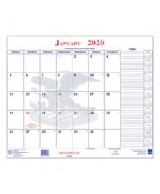7530016649510, Calendar Blotter, 18 x 22, 2020