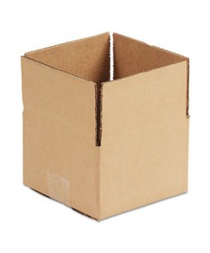 "FIXED-DEPTH SHIPPING BOXES, REGULAR SLOTTED CONTAINER (RSC), 18"" X 12"" X 8"", BROWN KRAFT, 25/BUNDLE"