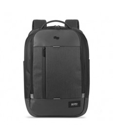 Magnitude Backpack 17 Laptop, 18.5 X 12.5 X 6, Black Herringbone
