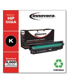 REMANUFACTURED BLACK TONER, REPLACEMENT FOR HP 508A (CF360A), 6,000 PAGE-YIELD