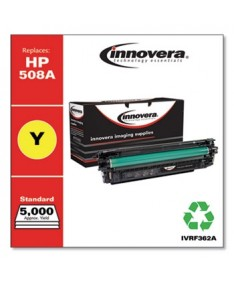 REMANUFACTURED YELLOW TONER, REPLACEMENT FOR HP 508A (CF362A), 5,000 PAGE-YIELD