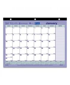 Monthly Desk Pad Calendar, 11 x 8.5, 2022